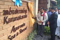 Karunakarala Ayurveda Spa & Resort Opening