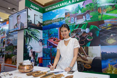 Karunakarala at Thai International Travel Fair